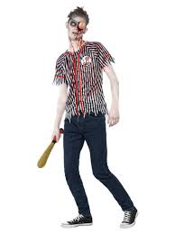 Zombie Baseball Player