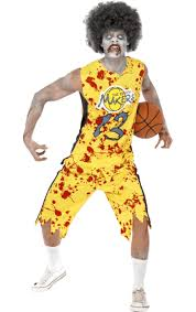 Zombie Basketball Player