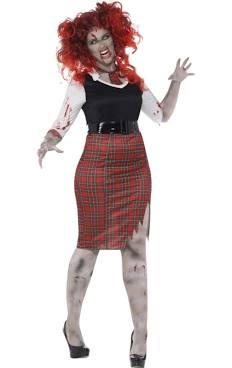 Curves Zombie School Girl
