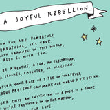 FREE DOWNLOAD! Joyful Rebellion Manifesto