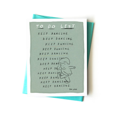 To Do List Card