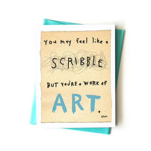 Work of Art Card