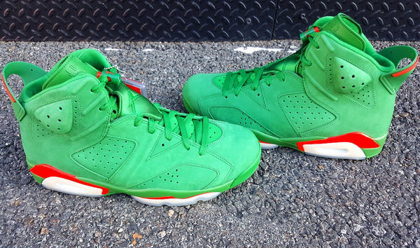 Air Jordan Retro 6 Gatorade Green