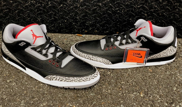 Air Jordan Retro 3 OG Black Cement