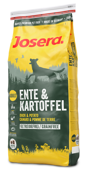 Josera Duck & Potato Grain Free Dog Food