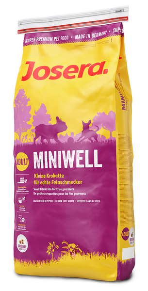 Josera Miniwell 15kg Adult small dog food