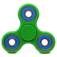 fidget spinner green and blue