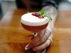 A Picnik-Style Holiday Cocktail: The Sleigh Ride