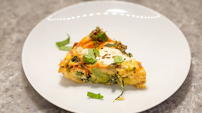 keto pizza frittata recipe