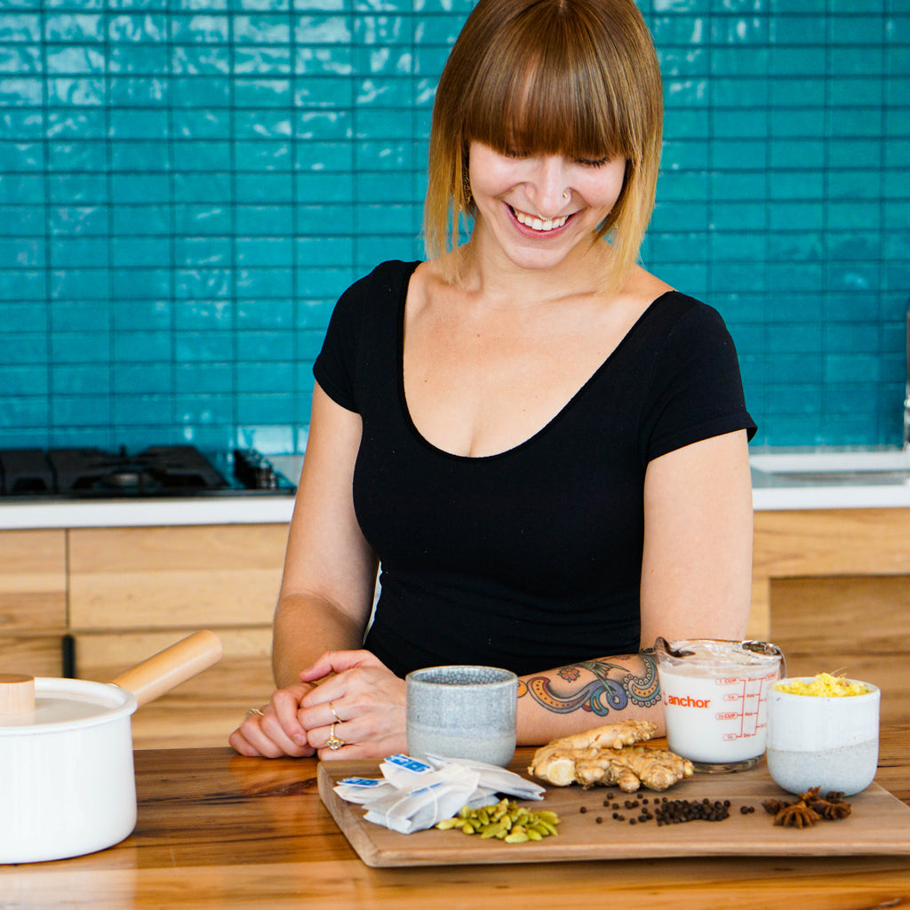Dairy Free Dirty Chai Recipe with Naomi Seifter from Picnik