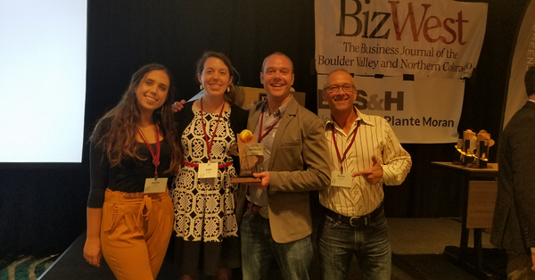 "Cusa Tea Wins BizWest ""Innovation Quotient"" Award for Natural Products"