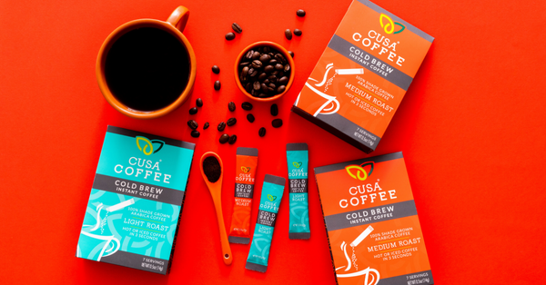 Cusa Tea Expands into Cusa Tea and Coffee with Launch of World's First Cold-Brew Instant Coffee
