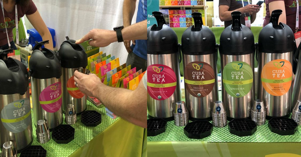 Cusa Tea Debuts Reusable Sample-cup Program at Outdoor Retailer