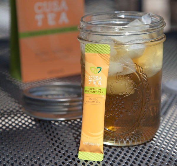 Cusa Tea Iced Mango Green Tea