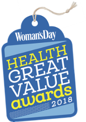 Woman's Day Healthy Great Value Awards 2018