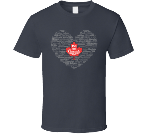 150 Things to Love T Shirt