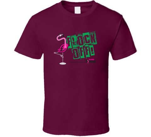 Chillin' Flamingo - Flock off! T Shirt