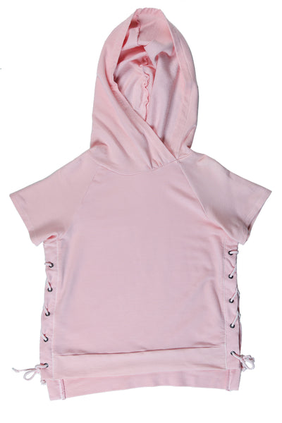 Lace Up Side Hoodie