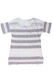 Boxy Stripe Terry Tee