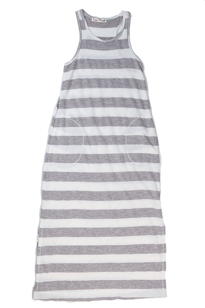 Racer Stripe Terry Maxi