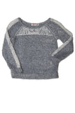 Lace Piecing Sweatshirt