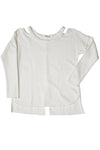L/S Split Neckband Top