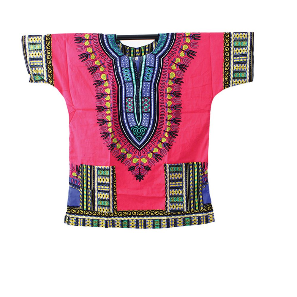 Traditional Dashiki Pink