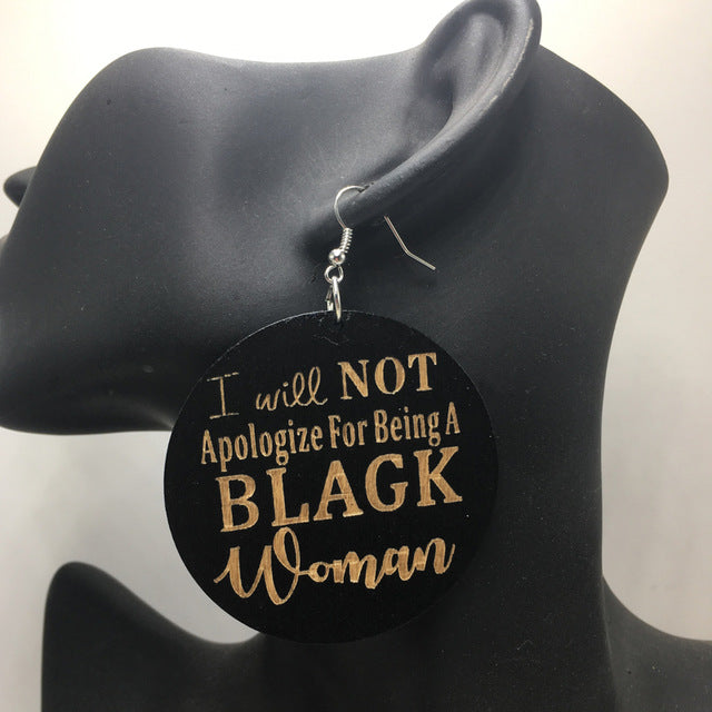 Unapologetic Woman Earrings