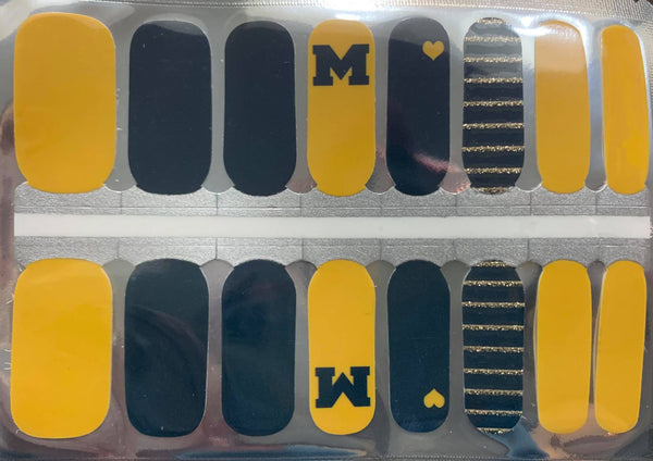 Michigan Nail Wraps #298