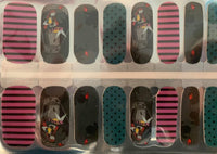 Sally Stripes and Dots Nail Wraps #322