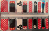 Kids Classic Mickey and Minnie Nail Wraps #270