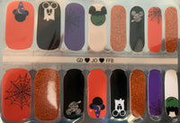 Mickey Halloween Nail Wraps #D8