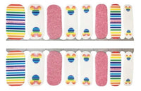 Rainbow Mickey Nail Wraps #336