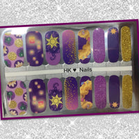 HK Custom Nails Rapunzel #C8