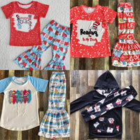 #3182- Dr. Suess Pants Sets