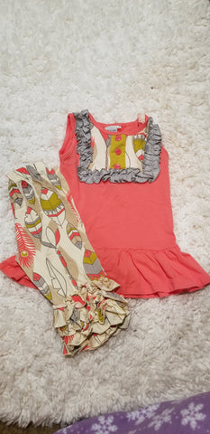 Size 4t- Adora Bay High Quality Capri Set