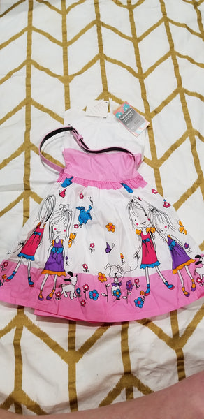 Size 3t- Brand New Parade Style Dress