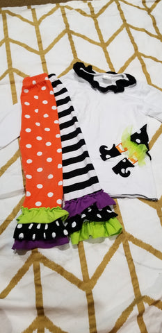 Size 2t- With Halloween Set