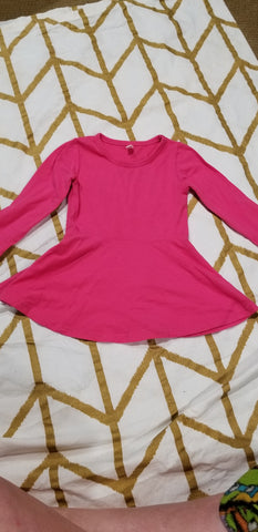 Size 2t- Pink Tunic Top
