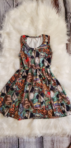 RTS: 3T -Animal Kingdom Mickey dress