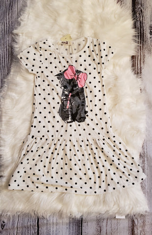GU # 7- 4T - kitty dress