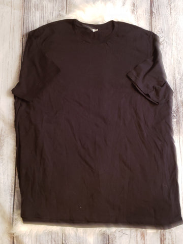 GU- Size Adult 3X - black shirt