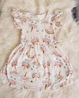 RTS: #6 Size - 6-12 M Unicorn Dress