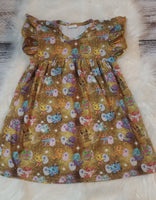 Size 6/7 - Hatchimal dress GU #143