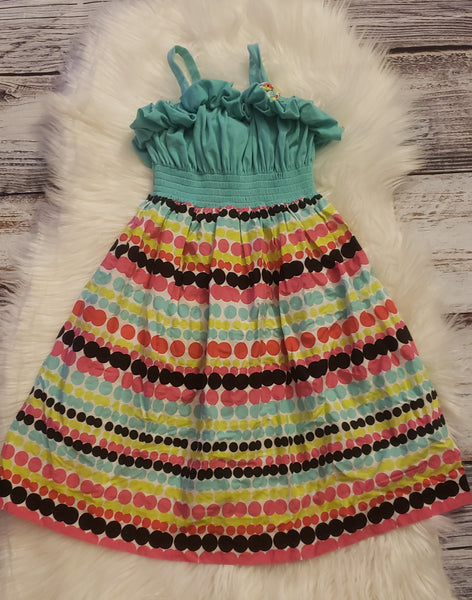 Size 14/16 - Rainbow dress GU #197