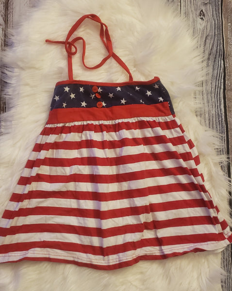Size 7 - Stars and stripes shirt GU #206