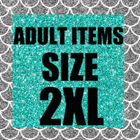 RTS- Adult Size 2XL Ready to Ship