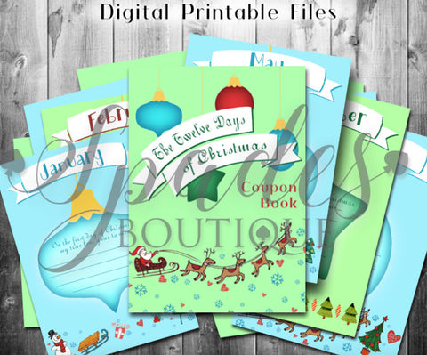 Digital Download- 12 Days Coupon Book