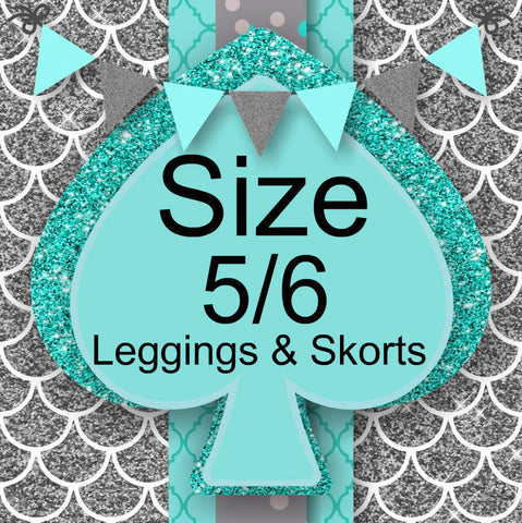 RTS- Size 5/6 Leggings and Skorts