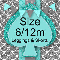 RTS- Size 6/12m Leggings and Skorts